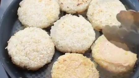 快速自制糯米饭团, 好吃的便当, 也可以做零食