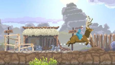 凯麒《王国: 新大陆》攻略详解 结局关上集 极贫起家被巨人群攻城
