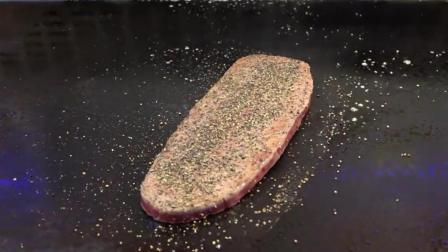 大厨煎的牛排就是不一样, 这样的沙朗牛排请给我打包五十份