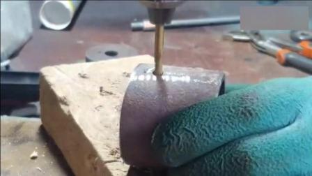 牛人用圆管制作的这个工具, 简直就是装修工人的福音, 太实用了