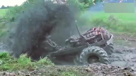 印度小伙开拖拉机,开出了宝马般的气势,太牛了!