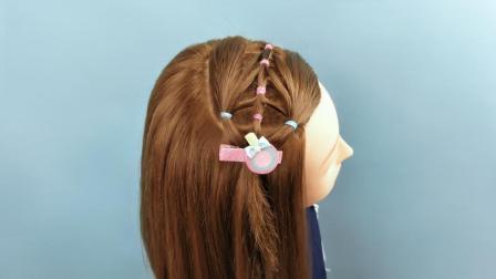适合小女童短发发型 小女孩简单发型可爱型