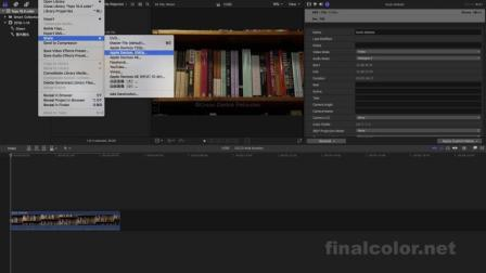 fcpx 10.4如何导出h.265(HEVC)编码格式视频_lite