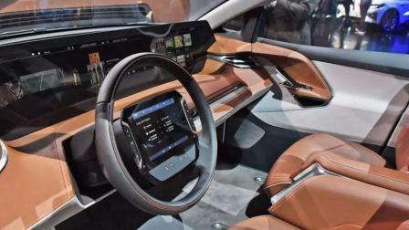 国产科技新车领军世界, 车标类似布加迪, 1米中控大屏犹如电视机!