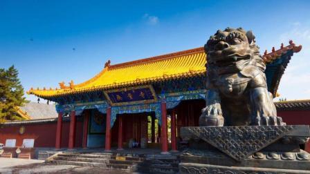 蒙古最大的寺庙 汉藏文化相融合 在当地影响深远