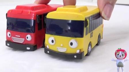 巧克力生日蛋糕 小公交车太友邀请朋友们玩耍吃蛋糕 儿童益智玩具故事