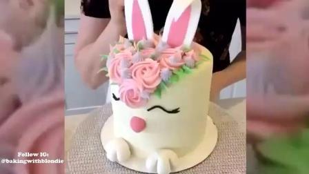 2017年蛋糕装饰视频教程——满意的蛋糕式视频