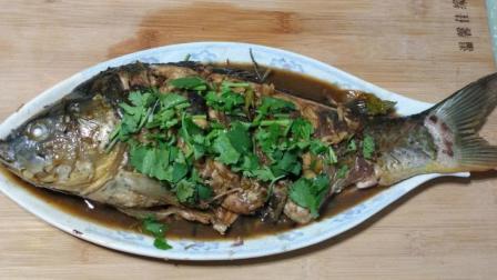 今天咋吃饭: 鲤鱼的家常做法, 这样炖鲤鱼, 鱼肉最好吃
