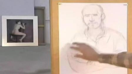 人物速写图片大全 创意素描优秀作品 人物头像素描教学视频