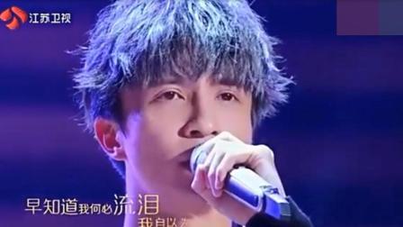 薛之谦、何洁现场一首《有没有》, 声线太美了, 观众听哭