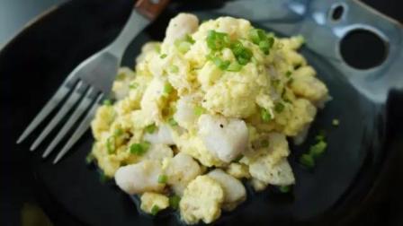 方便快捷, 5分钟搞定下班晚饭! 简单美味的龙利鱼炒鸡蛋-----中餐美食教程