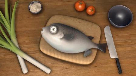 趣味动画短片-执着的鱼