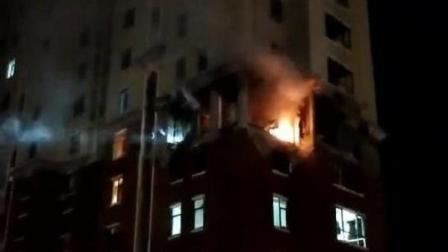 现场视频丨锦州凌海一小区住宅发生天然气闪爆, 致1人死亡4人受伤
