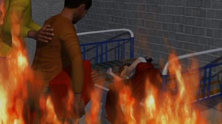 3D: 印度男子带女友私奔 14岁残疾妹妹被女方家人活活烧死