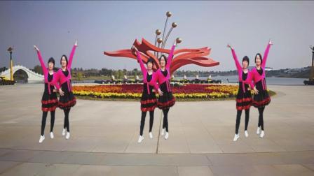 梦中的流星广场舞: 《活水吗哪来喂养》 原创基督教舞蹈  编舞: 凤梅、晓茹