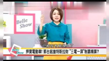 富士康郭台铭, 台湾媒体探讨他投资新能源汽车的目的