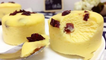 小米果干蒸蛋糕制作方法