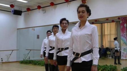 天坛周末10600 时装秀《黑白配》军 萍 等