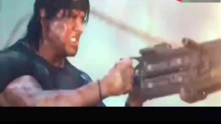 不容错过的《第一滴血4》最后的决战, 超真实枪战感! 太精彩了!