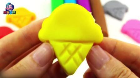 玩乐手工课 培乐多早教玩具 手工各色蛋筒 亲子认颜色