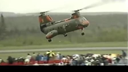 """谁说酒后不能飞? 这架重型运输直升机就要演示一下""""醉酒""""飞行特技!"""