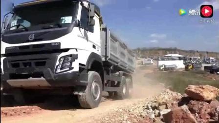沃尔沃自卸卡车, 来到国内从载货工具秒变豪车