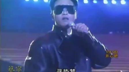 张国荣《黑色午夜》, 哥哥边跳边唱, 太有舞台魅力了