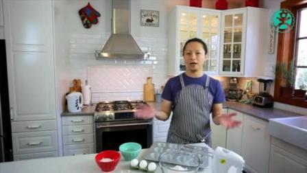 蛋糕胚子的做法 学习烘焙技术 自制法式面包