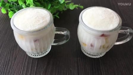 烘焙 蛋黄饼干的做法视频教程 椰奶果粒杯的制作方法bx0 烘焙裱花嘴的使用视频教程