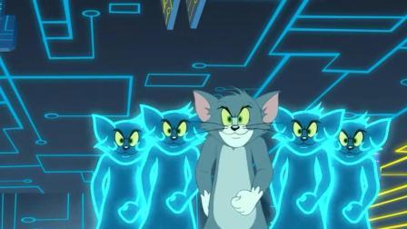 猫和老鼠-汤姆玩游戏机, 进入虚拟战斗猫鼠大战