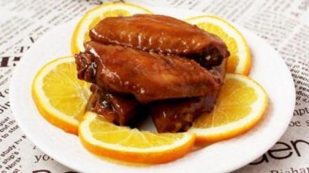一橙两吃, 用自制开胃解腻营养健康的橙子果酱做清香诱人的橙香鸡翅!