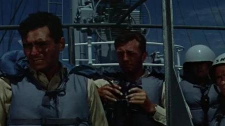 德军以为打废了美军驱逐舰, 上浮后遭到炮轰