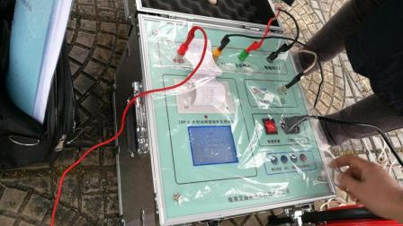 大型地网接地电阻测试仪试验操作现场