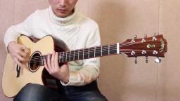 靠谱吉他蔡宁评测麦杰克云杉玫瑰木全单sa4000c 靠谱吉他乐器专营店