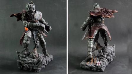 粘土软陶手工: DIY手工制作游戏雕刻黑暗之魂3的游戏角色
