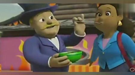 《汪汪队立大功》坏市长作弊, 把自己的辣酱和汪汪队的辣酱调包
