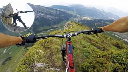 驶过最危险的路! 自行车速降狂人悬崖边狂飙 是男人就骑完全程