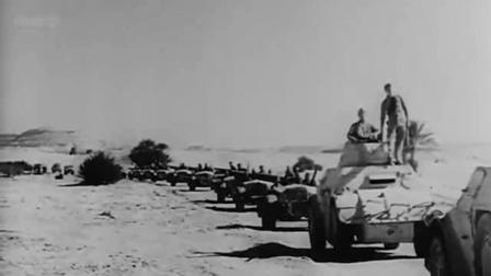 《二战欧洲东线纪实》隆美尔领导德意联军,北非战役驱逐英国