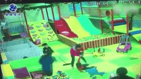 小孩起摩擦 女子拖拽男童砸其奶奶