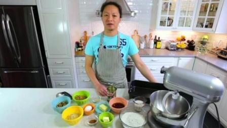 彩虹蛋糕的做法 烘焙基础 糕点西点蛋糕培训学校