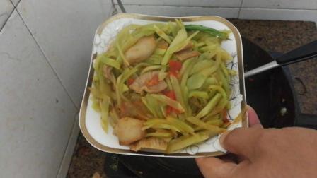 莴笋怎么做好吃又下饭 莴笋炒肉的做法视频