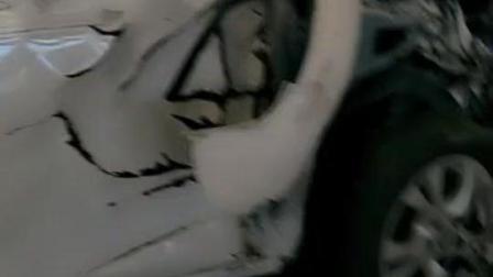 海马M5事故车, 前面被撞成这样, 又一辆二手车