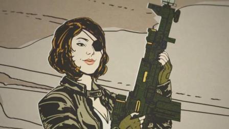 《德军总部2》DLC自由编年史01丨从没见过这么能吃的女间谍!