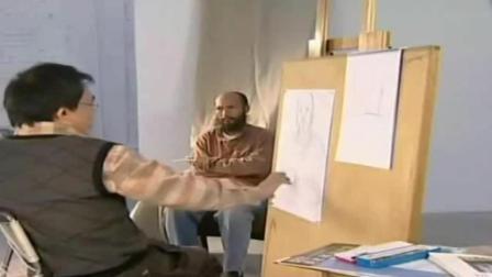 彩铅画入门教程步骤图 入门速写风景 素描画卡通人物