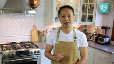 烘焙方法 制作生日蛋糕的全过程视频 家用烤箱烤蛋糕的做法