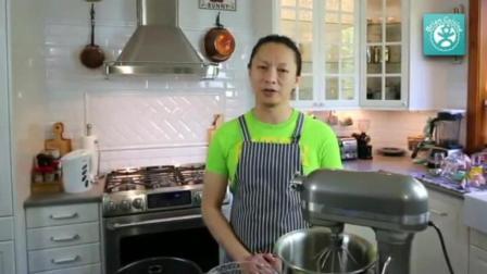 家用烤箱烤蛋糕的做法 制作生日蛋糕的全过程视频 烘焙方法