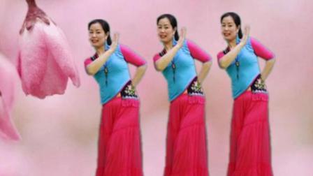雪妹舞翩跹原创中三舞步《玉水云屏》好柔美