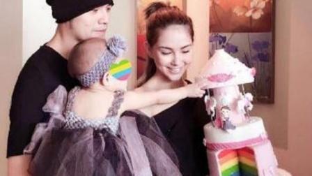 昆凌为老公周杰伦庆39岁生日, 亲制彩虹翻糖蛋糕秀恩爱