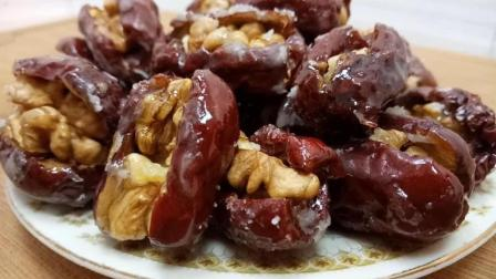 红枣核桃试一下这样做, 居然也能这么好吃, 吃过一次再也忘不了