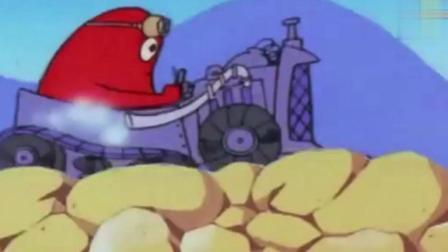 巴巴爸爸: 布莱伯的车真是太牛了, 什么样的路都可以走